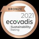 Ecovadis Sustainability Bronze Medal